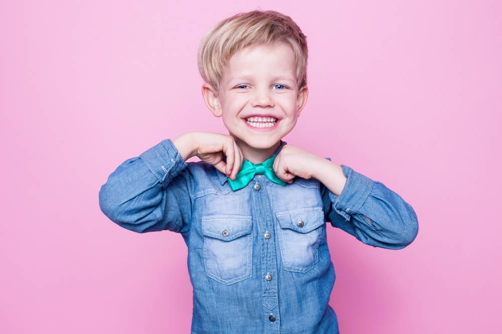 El estilo de los niños españoles al vestir