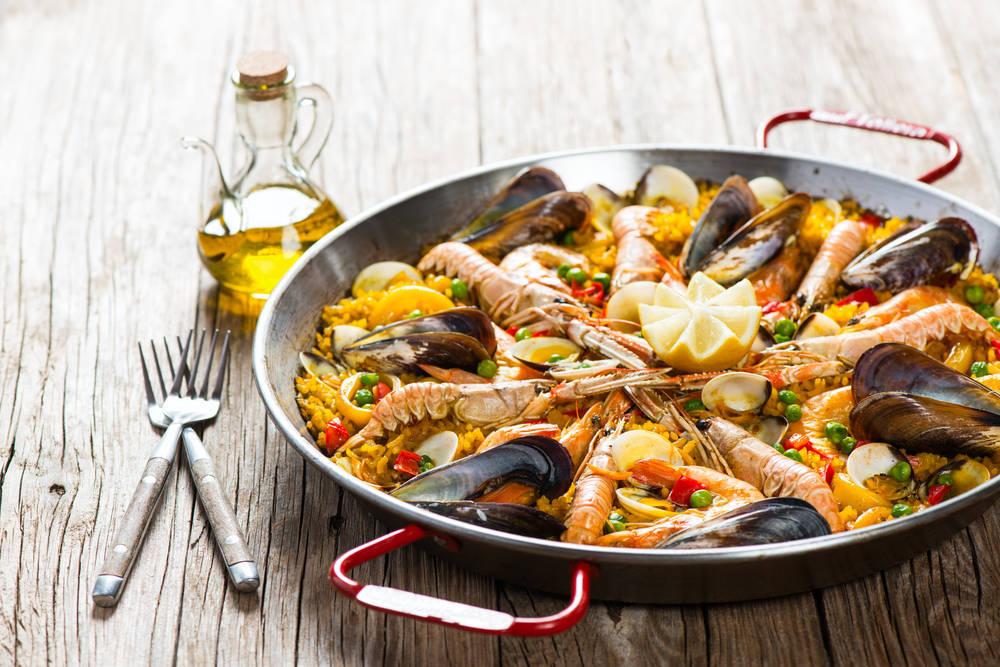 La paella, el plato estrella del levante español